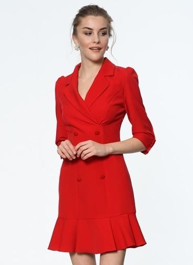 Mini Ceket Elbise-İroni